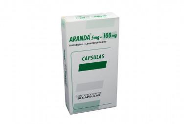 Aranda 5 / 100 mg Caja Con 30 Cápsulas
