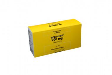 Arcalion 200 mg Caja Con 60 Comprimidos Recubiertos