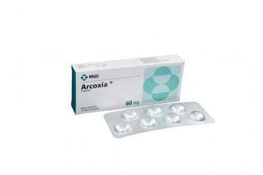 Arcoxia 60 mg Caja Con 14 Tabletas Recubiertas