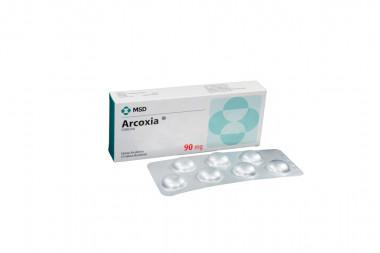 Arcoxia 90 mg Caja Con 14 Tabletas Recubiertas