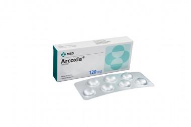 Arcoxia 120 mg Caja Con 7 Tabletas Recubiertas