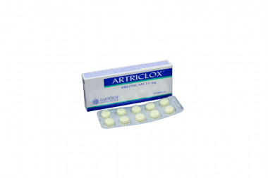 Artriclox 15 mg Caja Con 10 Tabletas