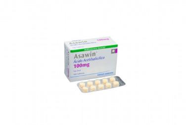 Asawin 100 mg Caja Con 100 Tabletas