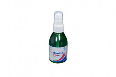 Benzirin Forte 0.3% Solución Bucal Spray Frasco Con 120 mL