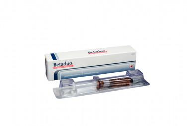 Betametasona Betaduo Suspensión Inyectable Caja Con Jerinja Prellenada De 1 mL