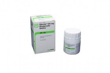 Valcote 125 mg Frasco Con 30 Cápsulas