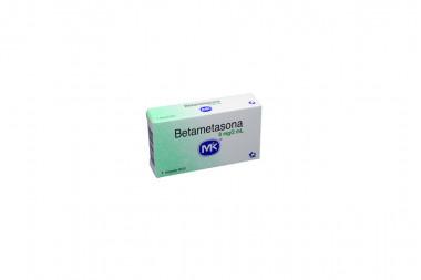 Betametasona Solución 8 mg Caja Con 1 Ampolla