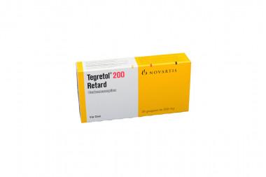 Tegretol Retard 200 mg Caja Con 20 Grageas