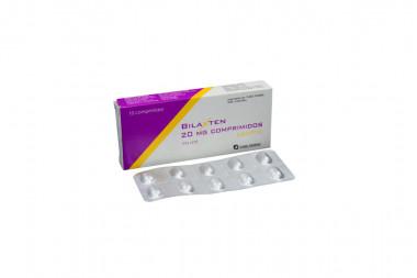 Bilaxten 20 mg Caja Con 10 Comprimidos