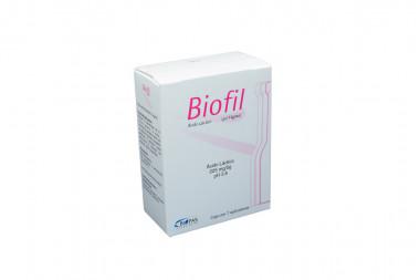 Biofil En Gel 225 mg / 5 g Caja Con 7 Aplicadores