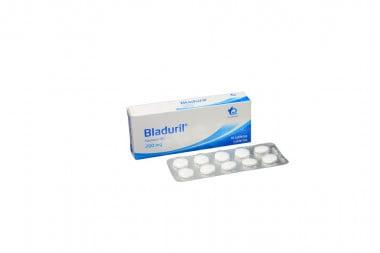 Bladuril 200 mg Caja Con 10 Tabletas Cubiertas