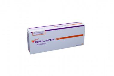 Brilinta 90 mg Caja Con 20 Comprimidos Recubiertos