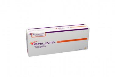 Brilinta 90 mg Caja Con 30 Comprimidos Recubiertos