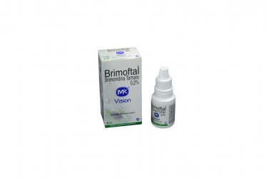 Brimoftal Caja Con Frasco Gotero Con 5 mL