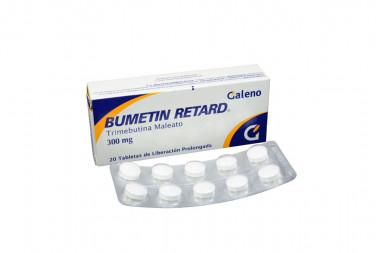 Bumetin Retard 300 mg Caja Con 20 Tabletas De Liberación Prolongada