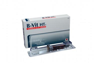 B-Vit HT Solución Inyectable Caja Con 3 Jeringas Prellenadas De 2 mL
