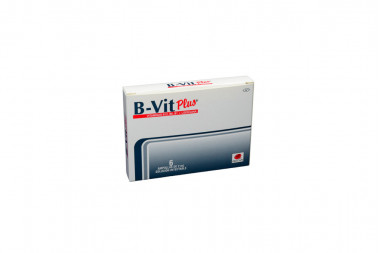 B-Vit Plus Solución Inyectable Caja Con 6 Ampolla De 2 mL