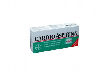 CardioAspirina 100 mg Caja Con 30 Tabletas