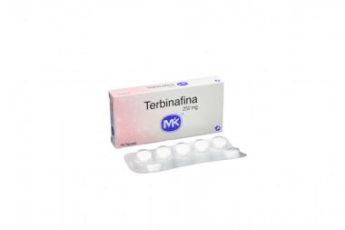 Terbinafina 250 mg Caja Con 14 Tabletas