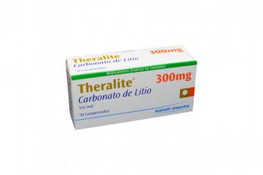 Theralite 300 mg Caja Con 50 Comprimidos