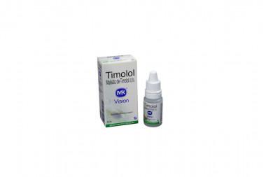 Timolol 0.5 % Solución Oftálmica Caja Con Frasco Con 5 mL