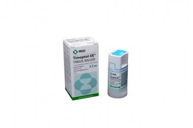 Timoptol-Xe Solución Oftalmica 0.5 % Caja Con Frasco Con 2.5 mL