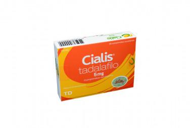 Cialis 5 mg Caja Con 28 Comprimidos Recubiertos