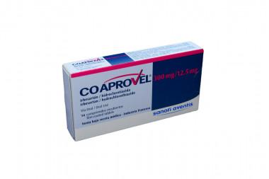 Coaprovel 300 / 12.5 mg Caja Con 14 Comprimidos Recubiertos