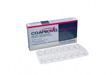 Coaprovel 300 / 12.5 mg Caja Con 28 Comprimidos Recubiertos