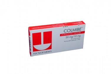 COLMIBE 20 / 10 mg Caja Con 30 Comprimidos