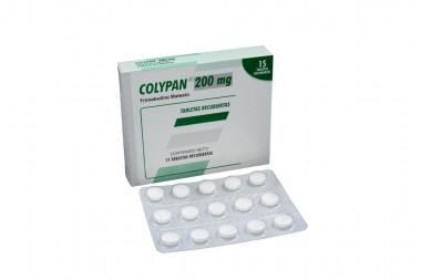 Colypan 200 mg Caja Con 15 Tabletas Recubiertas