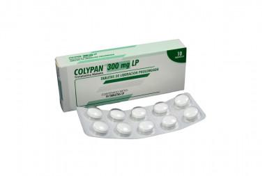 Colypan 300 mg Caja Con 10 Tabletas De Liberación Prolongada
