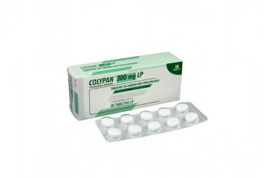 Colypan 300 mg Caja Con 30 Tabletas
