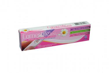 Comerlife Test Prueba De Embarazo Tipo Esfero Caja Con 1 Unidad