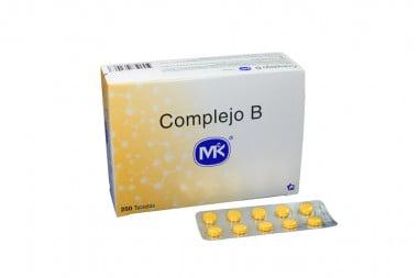 Complejo B Mk Caja Con 250 Tabletas