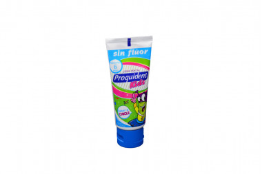 Proquident Kids Crema Dental Tubo Con 75 mL - Sabor A Chicle