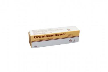 Cremoquinona En Crema 4% Caja Con Tubo Con 30 g