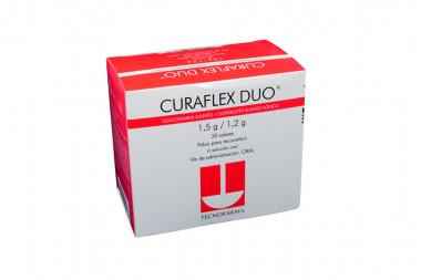 CURAFLEX DUO Polvo Para Reconstruir 1.5 / 1.2 g Caja Con 30 Sobres -Solución Oral