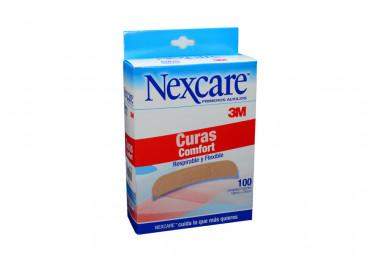 Curas Comfort Nexcare Caja Con 100 Unidades