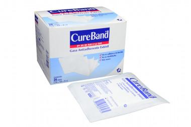 CureBand Premiun Gasa Caja x 24 Sobres - Limpieza A La Herida