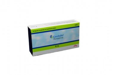 Cymbalta 60 mg Caja Con 29 Cápsulas Con Gránulos