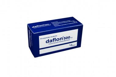 Daflon 500 mg Caja Con 60 Comprimidos Recubiertos