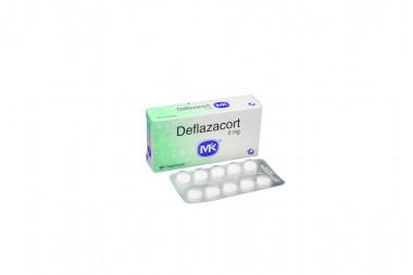Deflazacort 6 mg Caja Con 10 Comprimidos