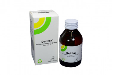 Delifon Jarabe 5 mg / 5 mL Caja Con Frasco Con 120 mL
