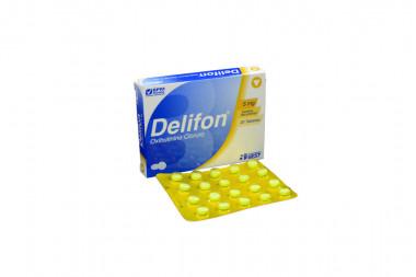 Delifon 5 mg Caja Con 20 Tabletas Recubiertas