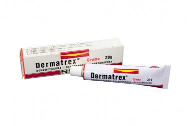 Dermatrex Crema Caja Con Tubo Con 20 g