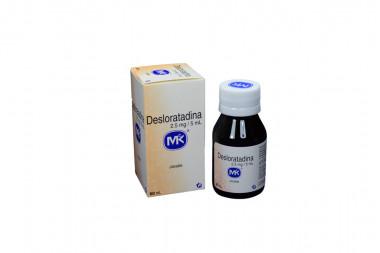 Desloratadina Jarabe 2,5 mg / 5 mL Caja Con Frasco 60 mL