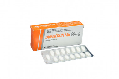 Diamicron MR 60 mg Caja Con 30 Comprimidos