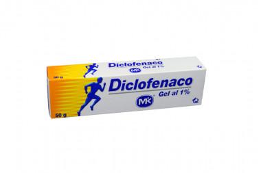 Diclofenaco Gel 1 % Caja Con Tubo Con 50 g