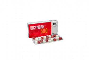 Dicynone mg 500 Caja Con 10 Cápsulas